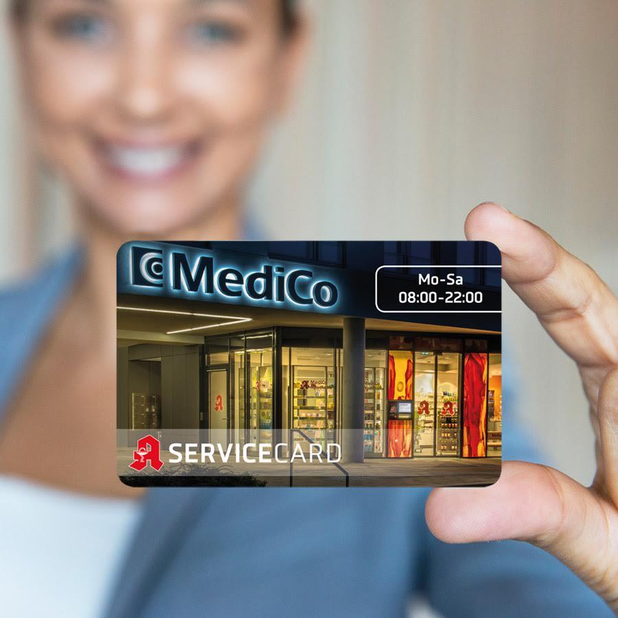 Servicekarte für Ihre Apotheke in Paderborn